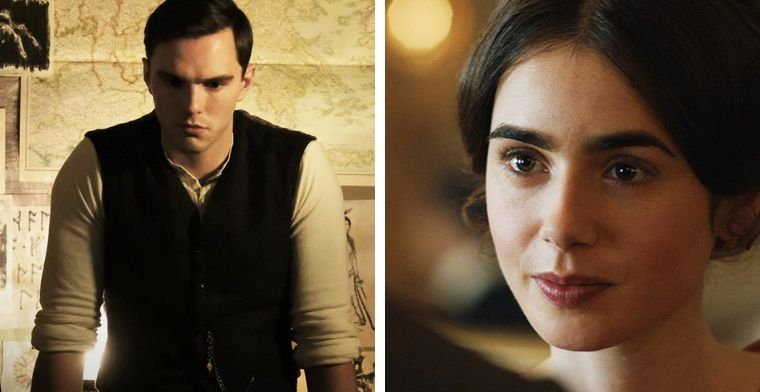 Nicholas Hoult and Lily Collins star in Tolkien the Movie