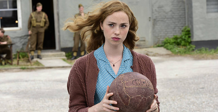 Freya Mavor as Margaret in 'The Keeper'