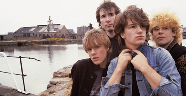 US pose for October 1981 album cover