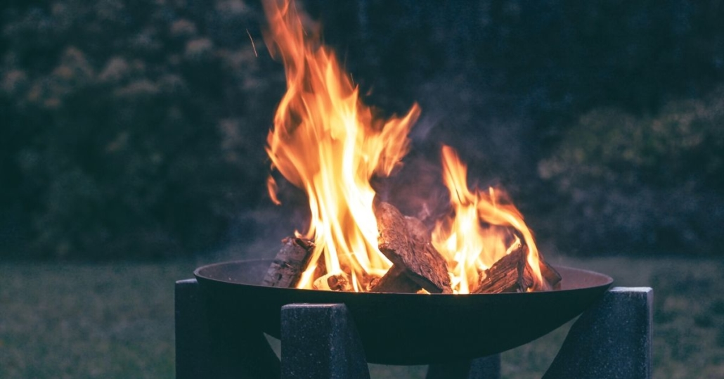 photo of a fire pit