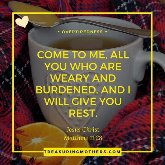 text graphic which says come to me, all you who are weary and burdened and i will give you rest. jesus christ. matthew 11:28