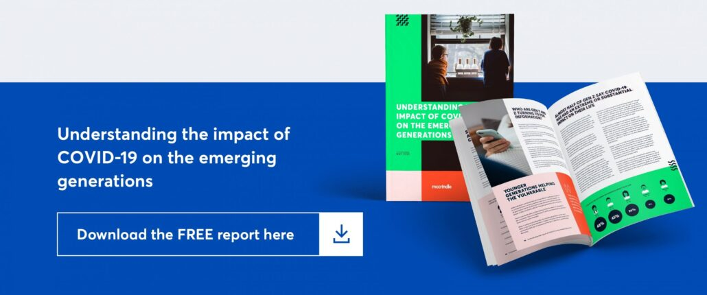 undrestanding the impact of covid on emerging generations. download the free report here