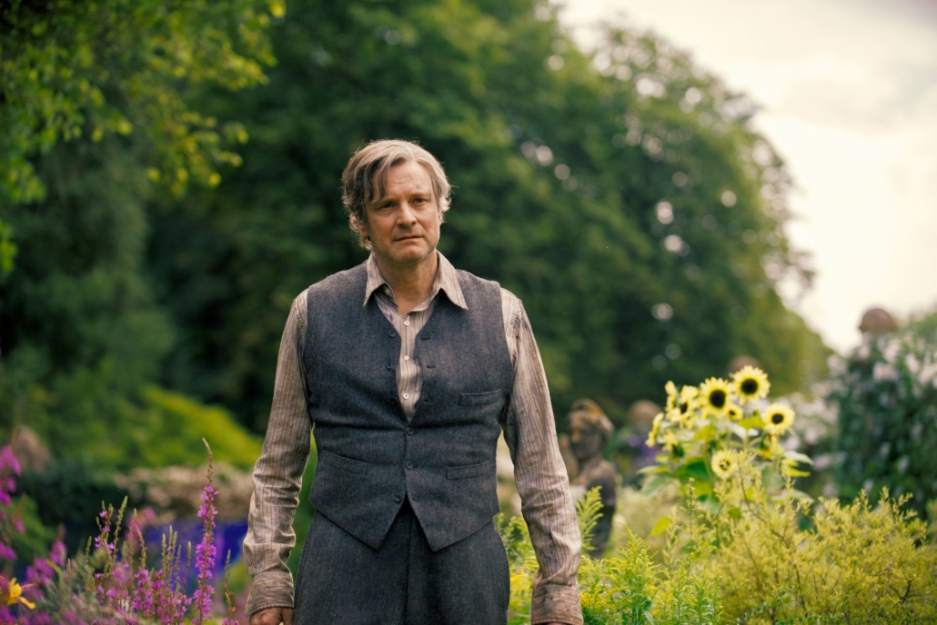 Colin firth plays uncle craven in the secret garden