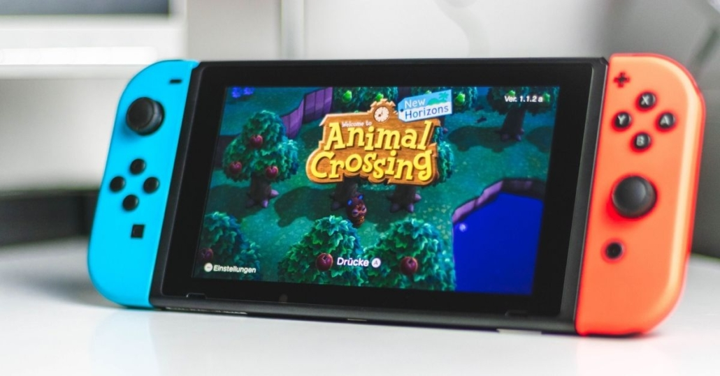 animal crossing on a nintendo switch
